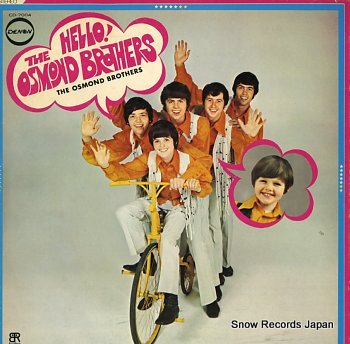 OSMOND BROTHERS, THE hello