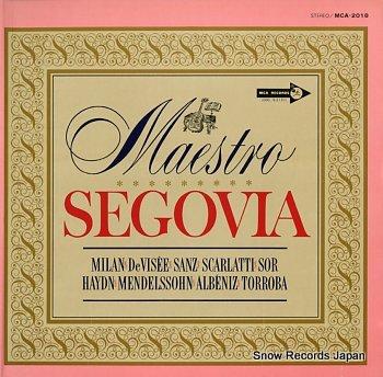 SEGOVIA, ANDRES maestro