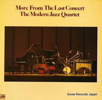 MODERN JAZZ QUARTET, THE more from the last concert