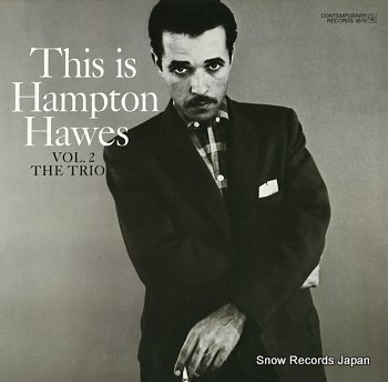 HAWES, HAMPTON vol.2 the trio