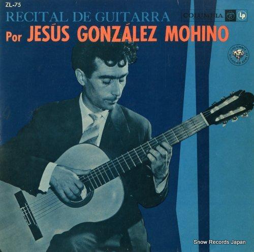 MOHINO, JESUS GONZALEZ recital de guitarra