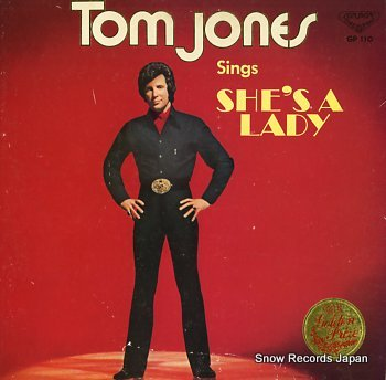 JONES, TOM sings she's a lady