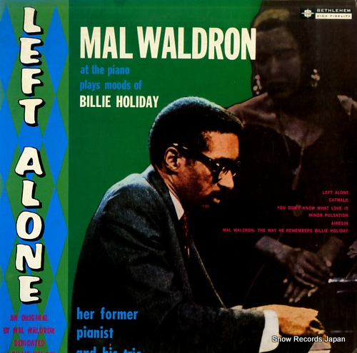 WALDRON, MAL left alone