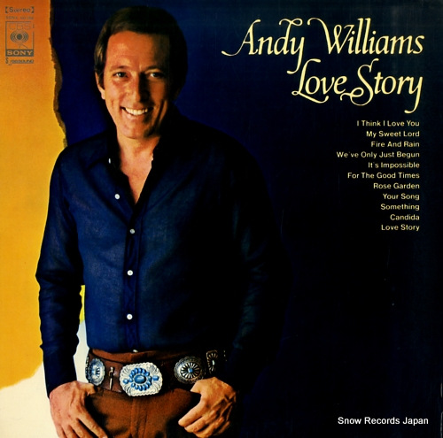 WILLIAMS, ANDY love story