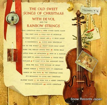 VOL, FRANK DE AND THE RAINBOW STRINGS old sweet songs of christmas, the