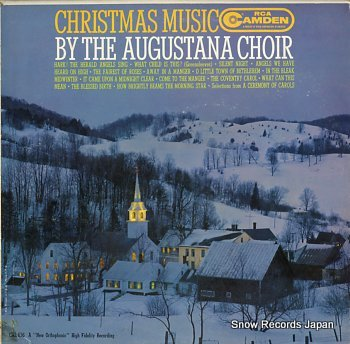 AUGUSTANA CHOIR, THE christmas music