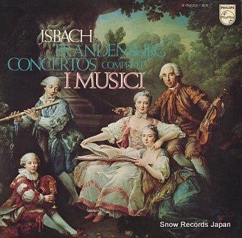 I MUSICI j.s.bach; brandenburg concertos complete