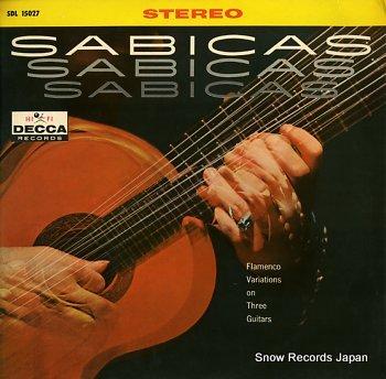 SABICAS flamenco variations on three guitars