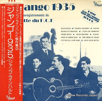 REINHARDT, DJANGO django 1935