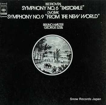 WALTER, BRUNO beethoven; symphony no.6 pastorale