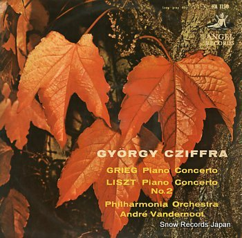CZIFFRA, GYORGY grieg; piano concerto