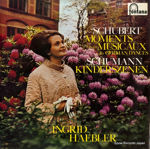 HAEBLER, INGRID schubert; moments musicaux