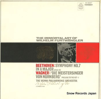 FURTWANGLER, WILHELM beethoven; symphony no.7 in a major op.92