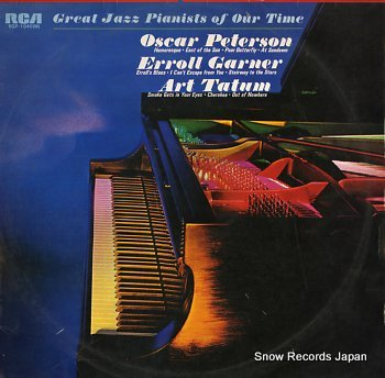 PETERSON, OSCAR great jazz pianists of our time