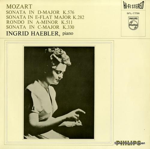 HAEBLER, INGRID mozart; piano sonata no17 & 4 &10