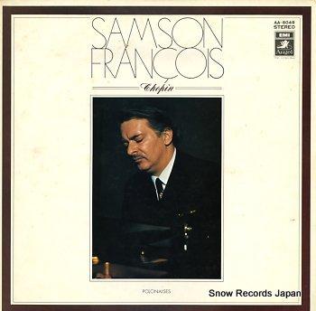 FRANCOIS, SAMSON chopin; polonaises