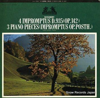 DEMUS, JORG schubert; 4 impromptus d.935(op.142)