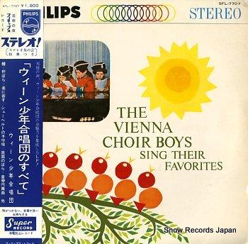VIENNA CHOIR BOYS, THE sing their favorites