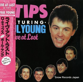 Q-TIPS FEAT.PAUL YOUNG live at last