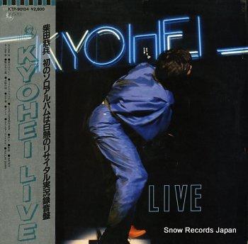 SHIBATA, KYOHEI kyohei live