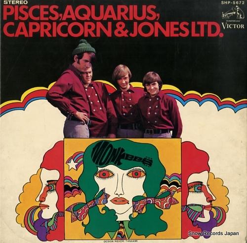 MONKEES, THE pisces, aquarius, capricorn & jones ltd.