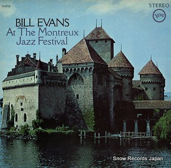 EVANS, BILL at the montreux jazz festival