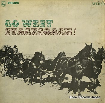 LECLERC, MAURICE go west stagecoach