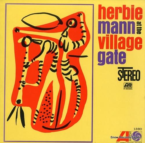 MANN, HERBIE at the village gate