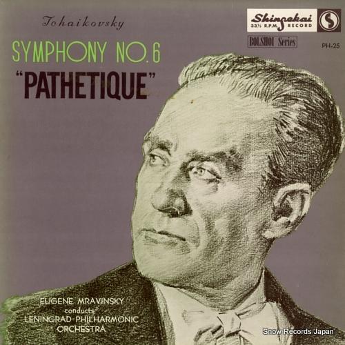 MRAVINSKY, EUGENE tchaikovsky; symphony no.6 pathetique