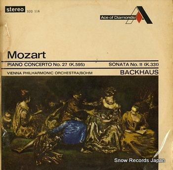 BOHM, KARL mozart; piano concerto no.27 /sonata no.11