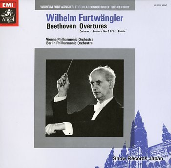 FURTWANGLER, WILHELM beethoven; overtures
