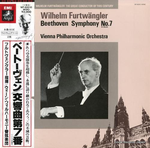 FURTWANGLER, WILHELM beethoven; symphony no.7 in a marjo