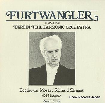 FURTWANGLER, WILHELM in lugano, 1954 beethoven; symphony no.6 in f major, op.68 pastoral