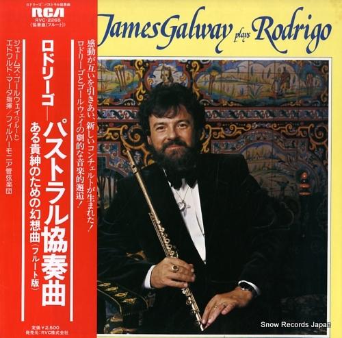 GALWAY, JAMES rodrigo; concierto pastoral for flute and orchestra