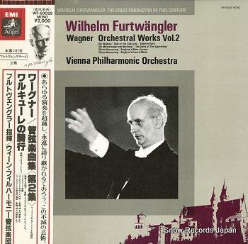 FURTWANGLER, WILHELM wagner; orchestral works vol.2