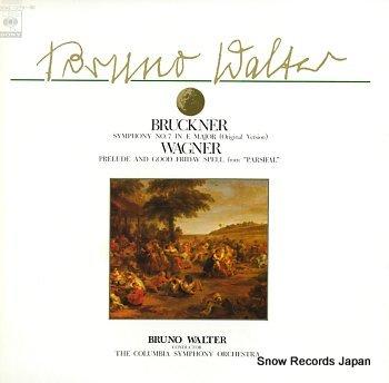 WALTER, BRUNO bruckner; symphony no.7 in e major original version