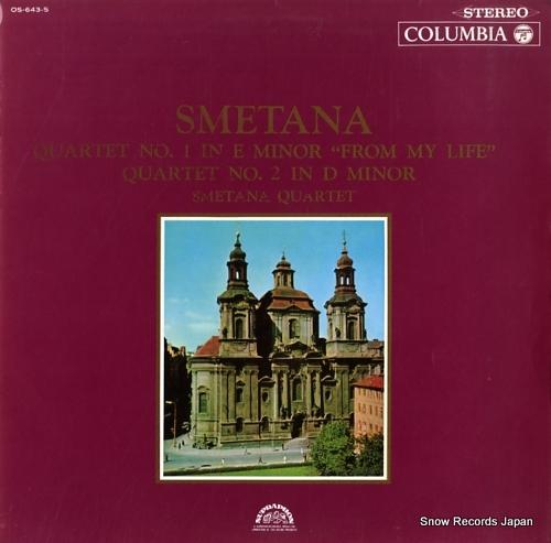 SMETANA QUARTET smetana; quartet no.1 in e minor from my life