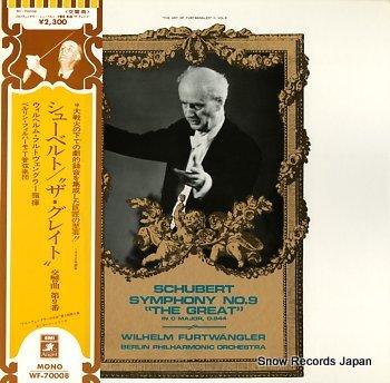 FURTWANGLER, WILHELM schubert; symphony no.9 in c major, d.944 the great