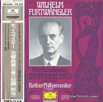 FURTWANGLER, WILHELM tschaikowsky, peter; symphonie nr.6 pathetique