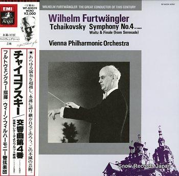 FURTWANGLER, WILHELM tchaikovsky; symphony no.4 in f minor