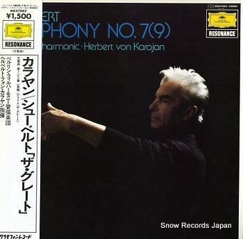 KARAJAN, HERBERT VON schubert; symphony no.7(9)