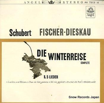 FISCHER-DIESKAU, DIETRICH schubert; die winterreise complete