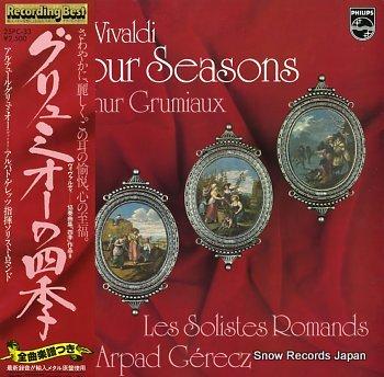 GRUMIAUX, ARTHUR vivaldi; the four seasons