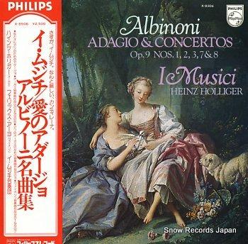 I MUSICI albinoni; adagio & concertos op.9 nos.1,2,3,7&8