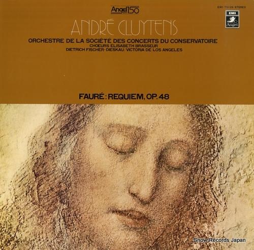 CLUYTENS, ANDRE faure; requiem, op.48