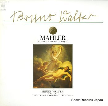 WALTER, BRUNO mahler; symphony no.9 in d major