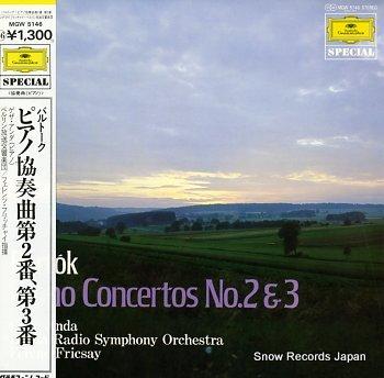 ANDA, GEZA bartok; piano concertos no.2 & 3