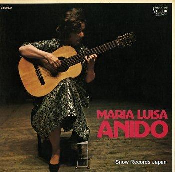 ANIDO, MARIA LUISA guitar recital