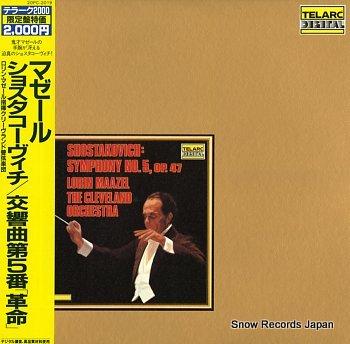 MAAZEL, LORIN shostakovich; symphony no.5, op.47