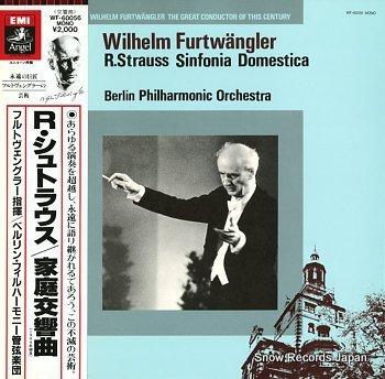 FURTWANGLER, WILHELM straus; sinfonia domestica